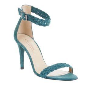 "Bcbg Green ""Venitia"" High-heel Suede Sandals"